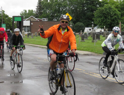 The Lina Cyr Bike Challenge for Transplant patients celebrates its 15th anniversary